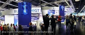 Oral B stand op international dental show