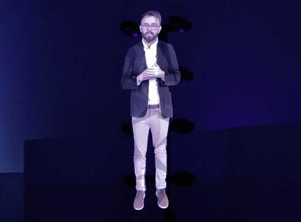 Hologram Mens Met Hypervsn Wall