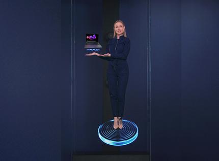 Hologram Human In Marketing